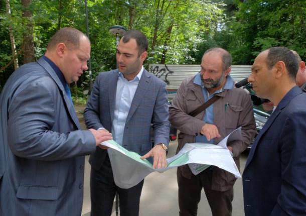 Стартовали работы по благоустройству экопарка «Губайловский»