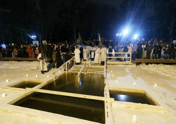 В Красногорске отметили Крещение